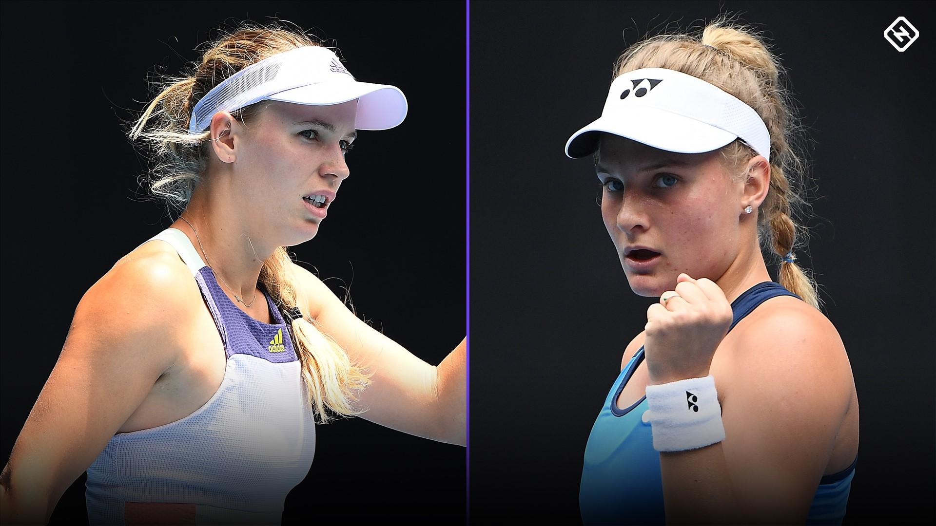 Australian Open: Dayama Yastremska claps back at Caroline Wozniacki amid faking accustations