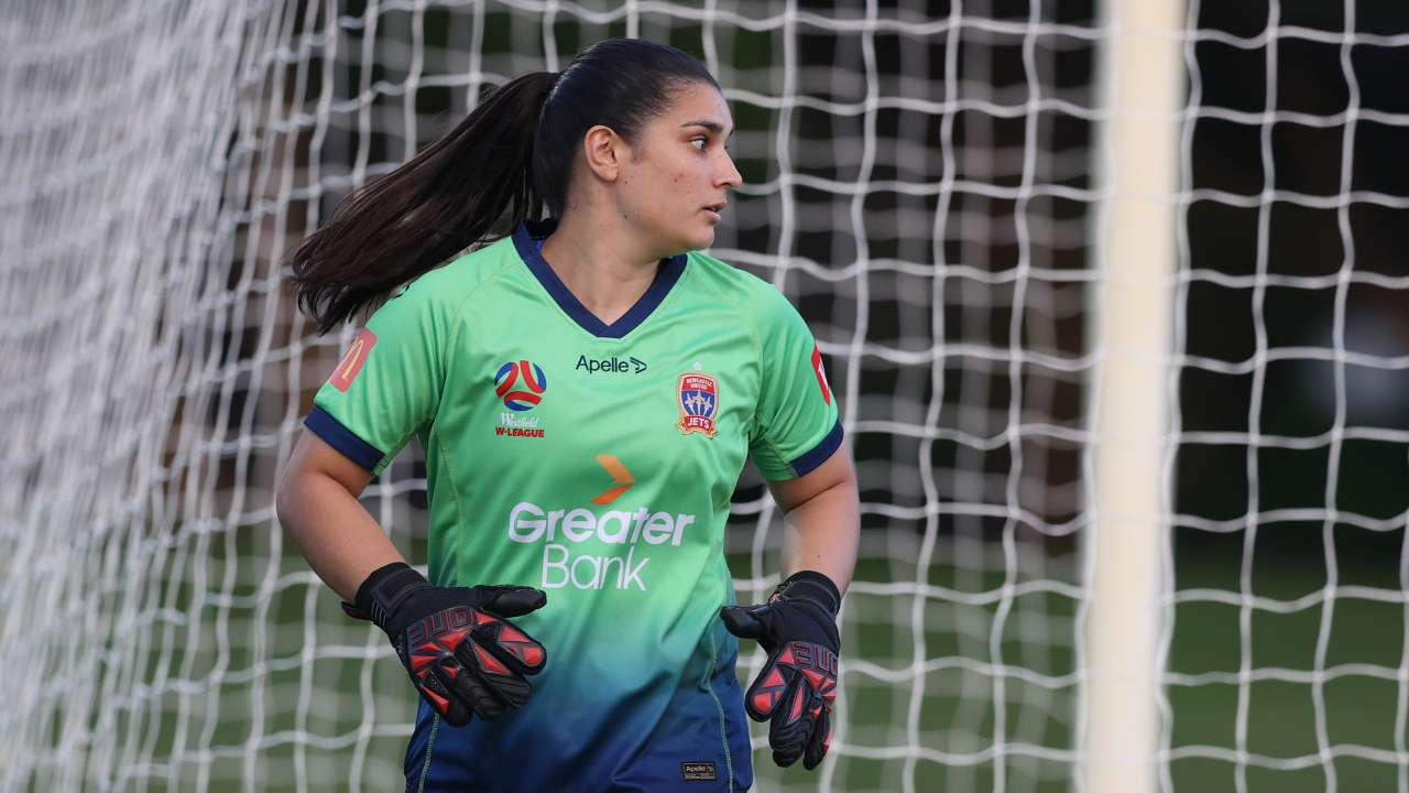 Claire Coelho Newcastle Jets