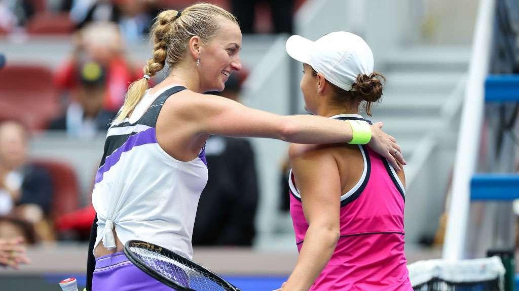 Petra Kvitova and Ash Barty