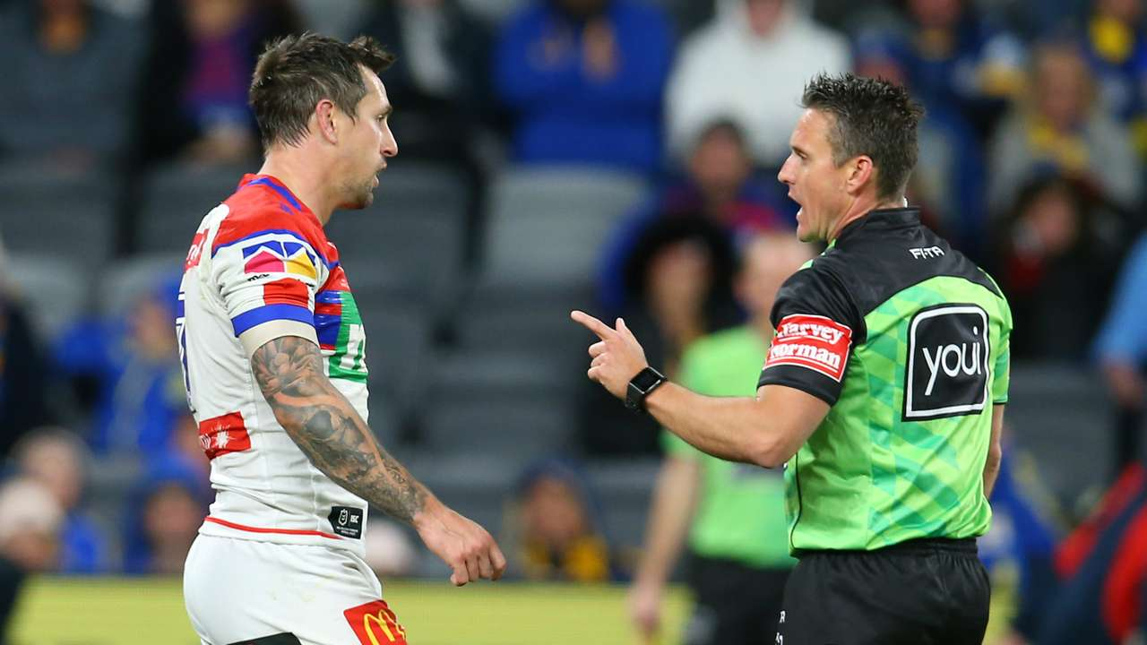 Mitchell Pearce referee