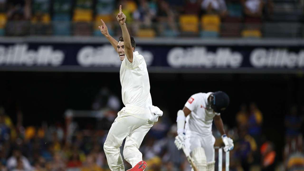 Pat Cummins last ball wicket