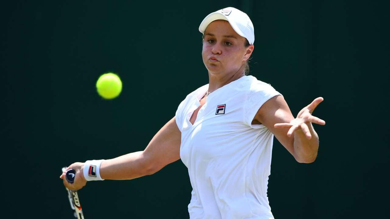 Ash Barty Wimbledon