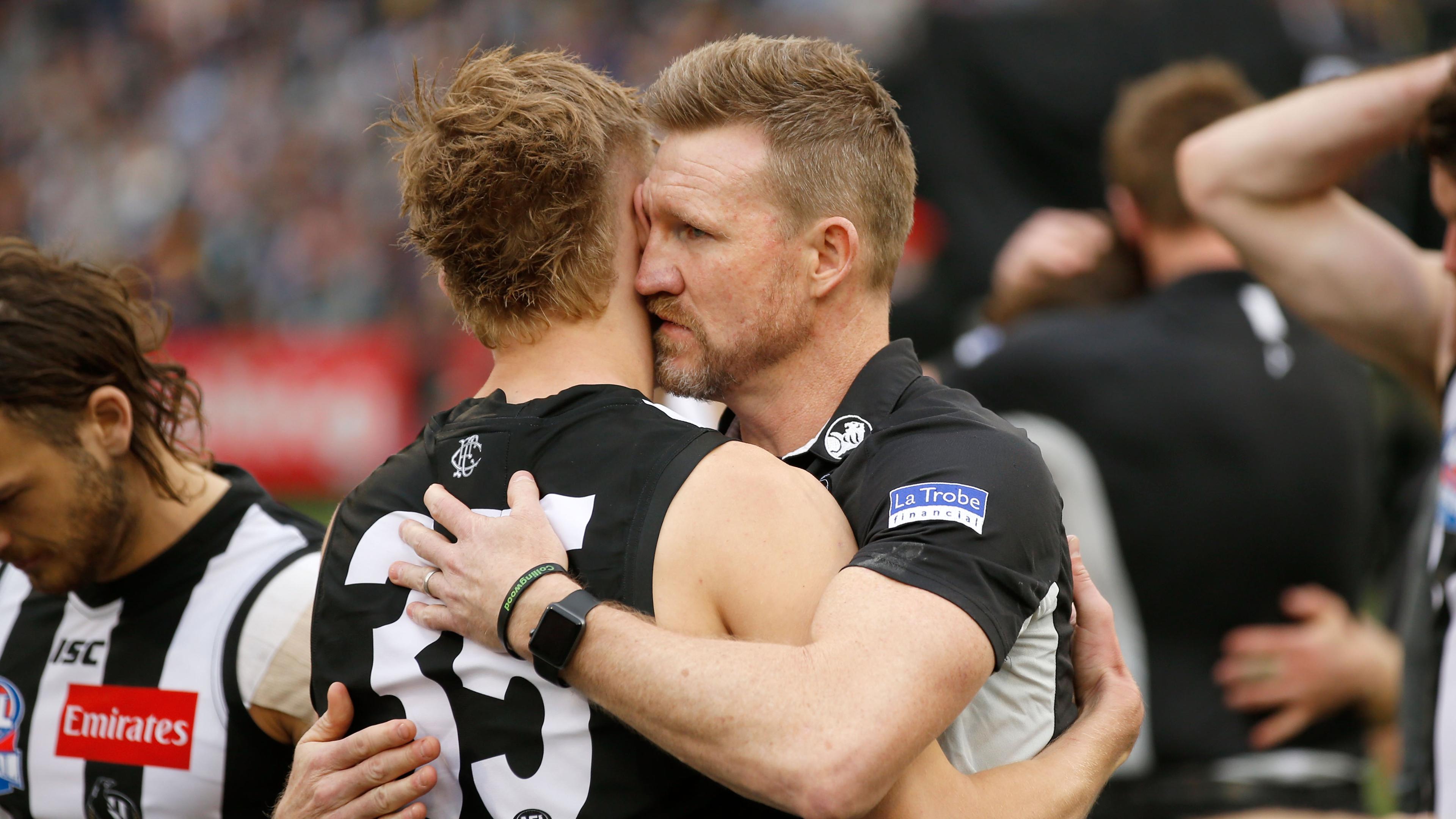 Nathan Buckley Defends Jaidyn Stephenson Slams Critics Of The Forward Sporting News Australia
