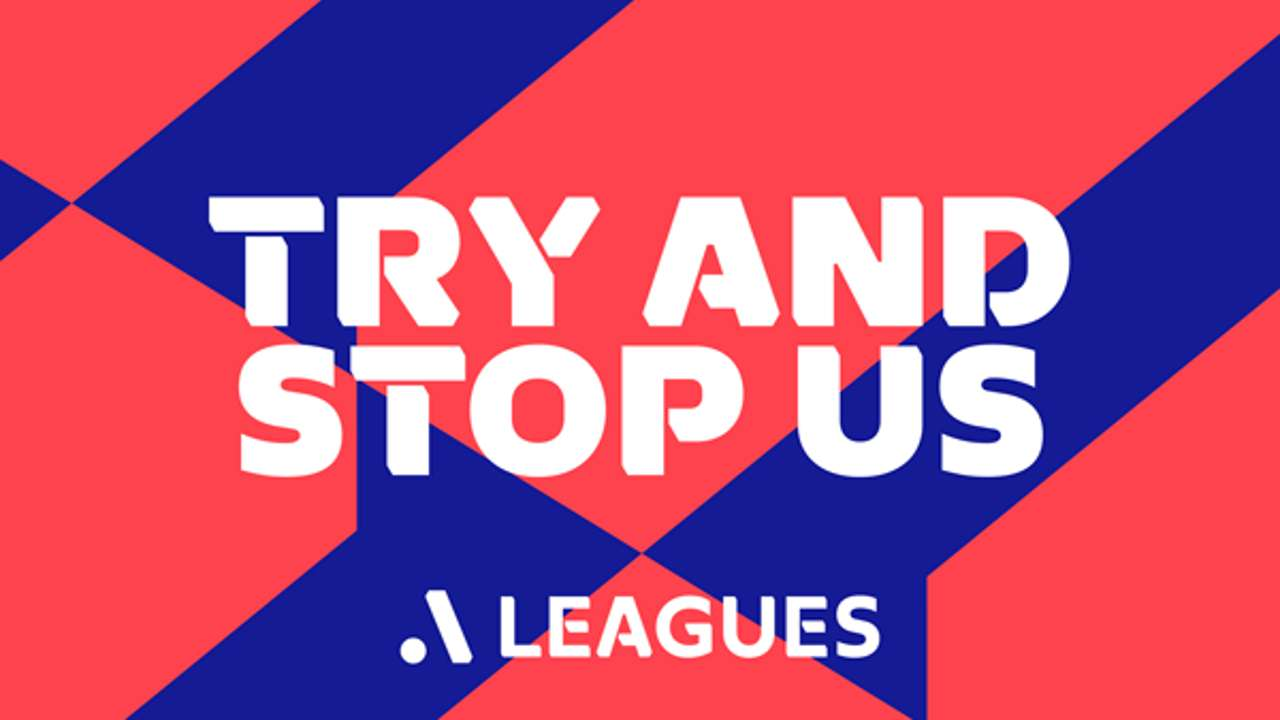 A-Leagues logo