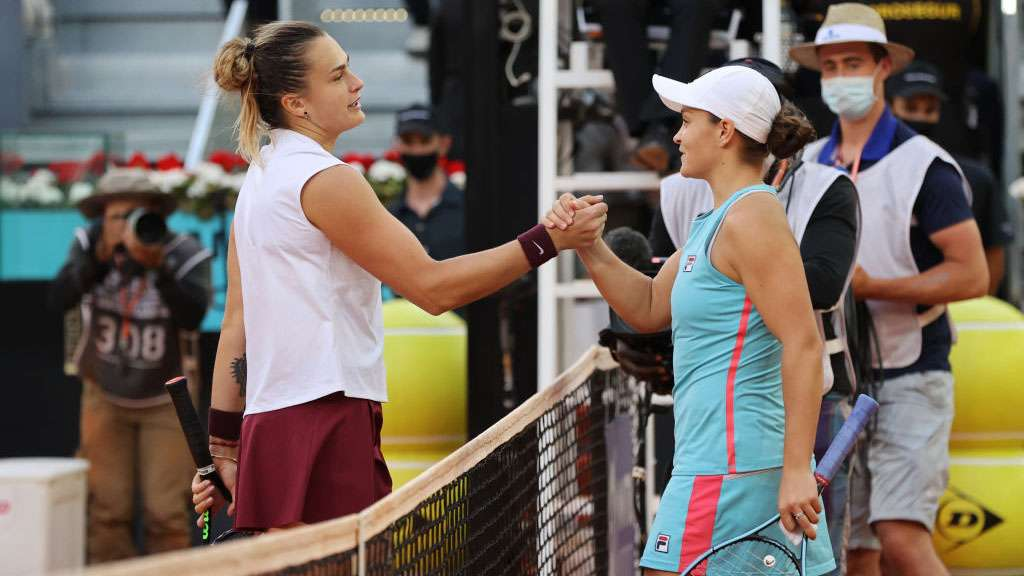 Aryna Sabalenka and Ash Barty