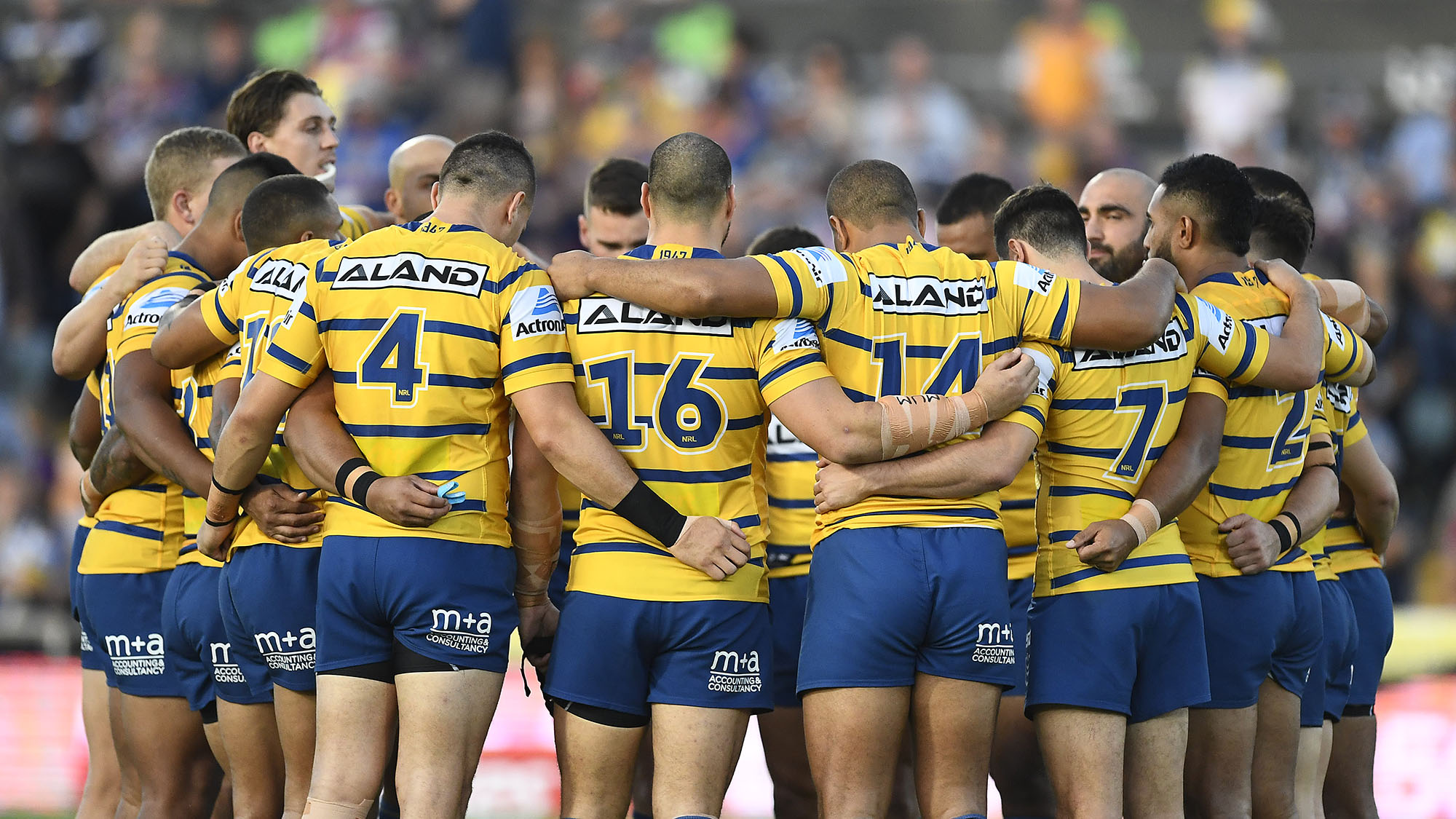 Parramatta Eels: New recruit Ryan Matterson included in new-look leadership group