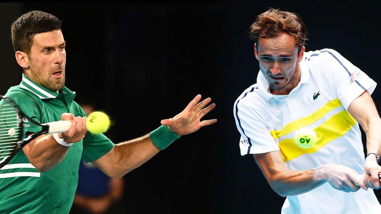 Novak Djokovic vs. Daniil Medvedev