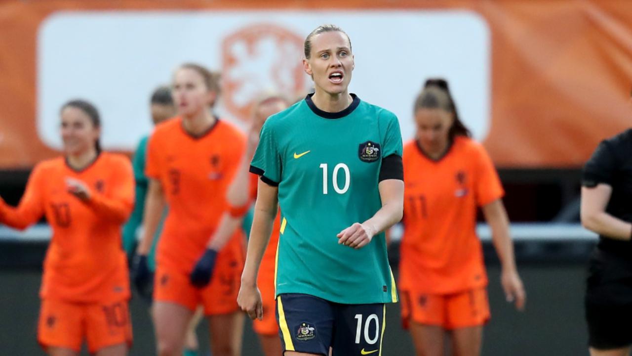 'Pretty upset' - Matildas suffer heaviest defeat in over a decade against Netherlands