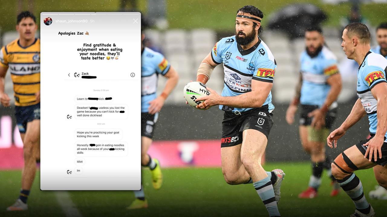 aaron woods shaun johnson abuse