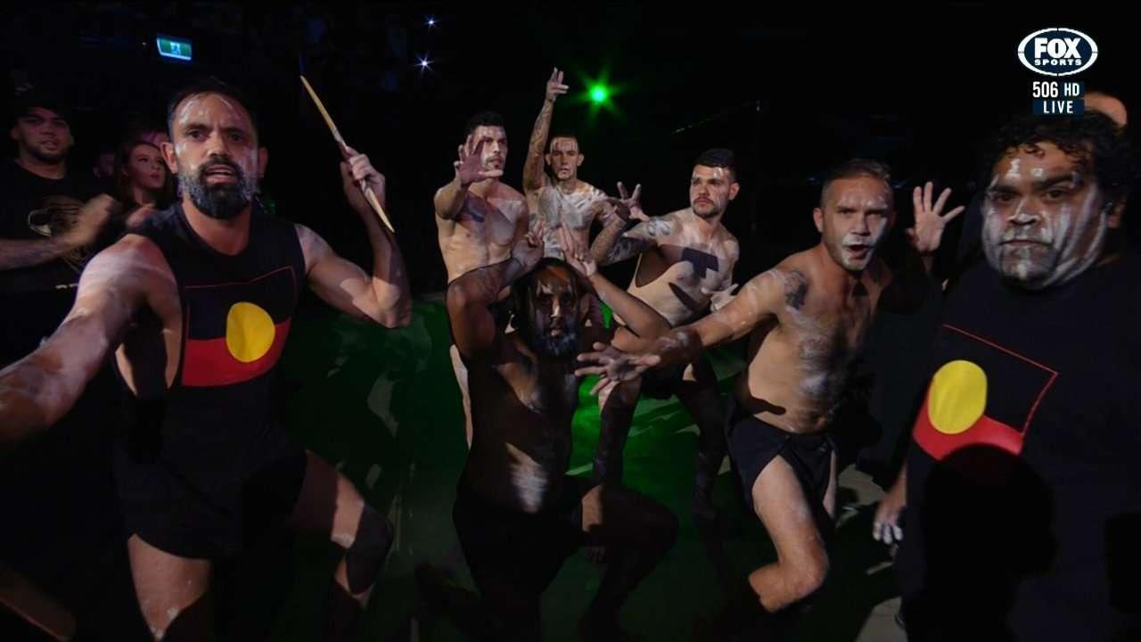 Tai Tuivasa entrance UFC Adelaide