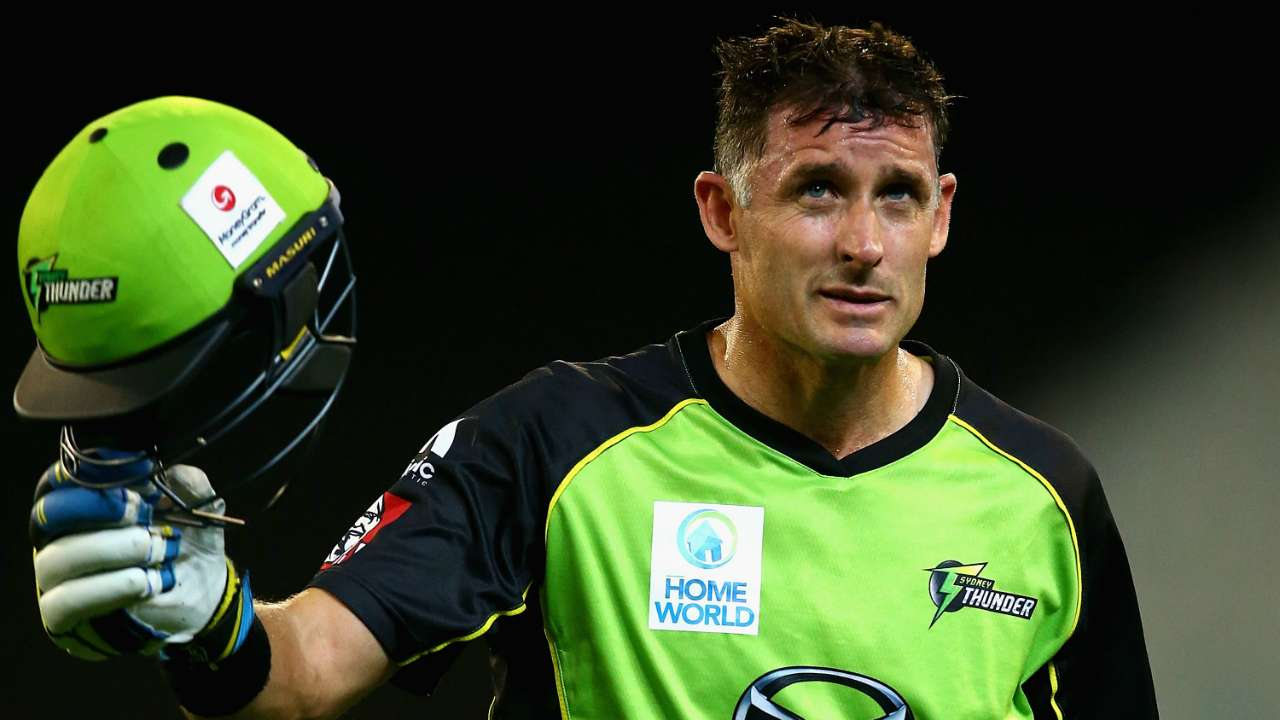 #mike hussey