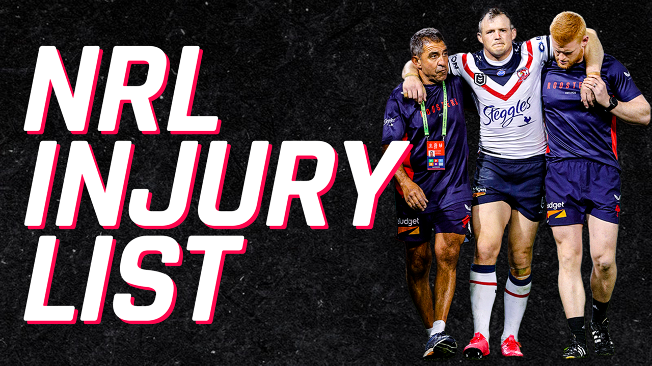 nrl injury list rd 8