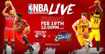 NBA Live: Bulls @ Cavs