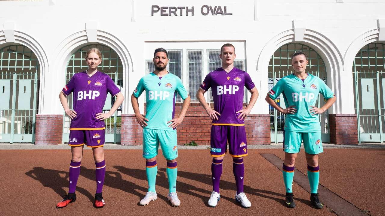 Perth Glory kit 2021-22