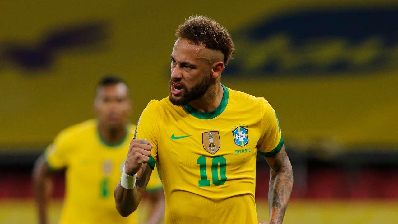 Neymar Brazil 2021