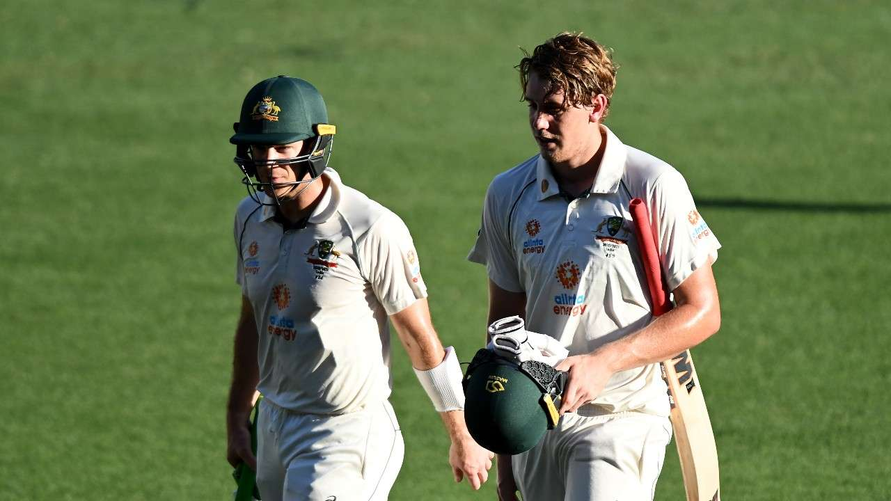 Tim Paine, Cameron Green