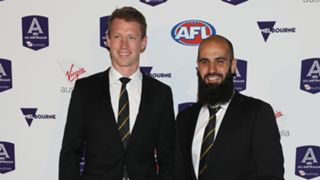 Dylan Grimes and Bachar Houli