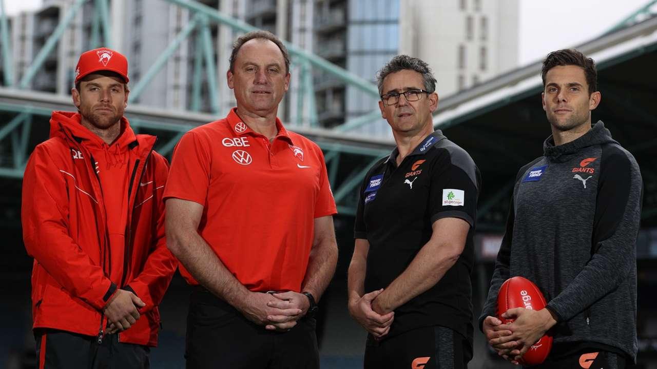 Rampe Longmire Cameron Kelly Sydney Swans GWS Giants Sydney Derby