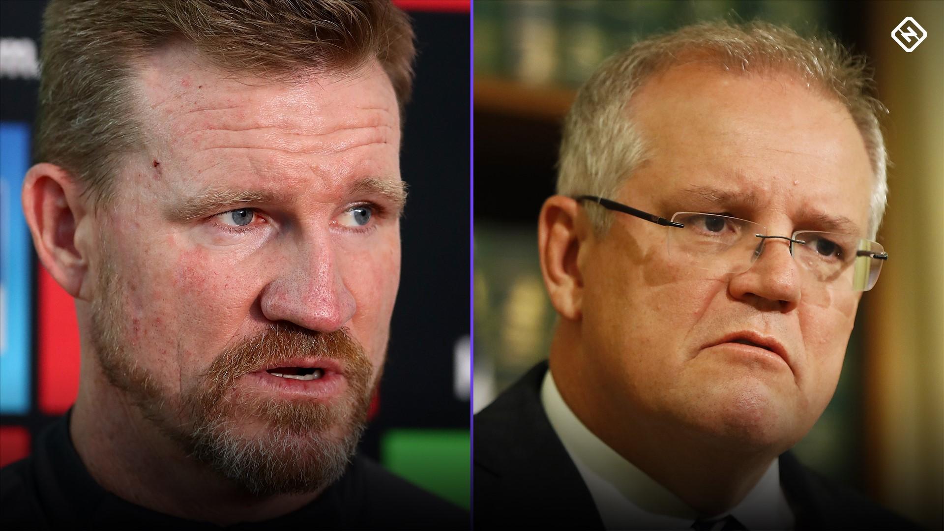 Collingwood Coach Nathan Buckley Delivers Searing Tweet To Scott Morrison Amid Bushfire Backlash Sporting News Australia