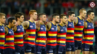 Adelaide Crows team line up