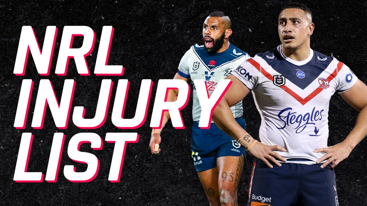 NRL Injury List