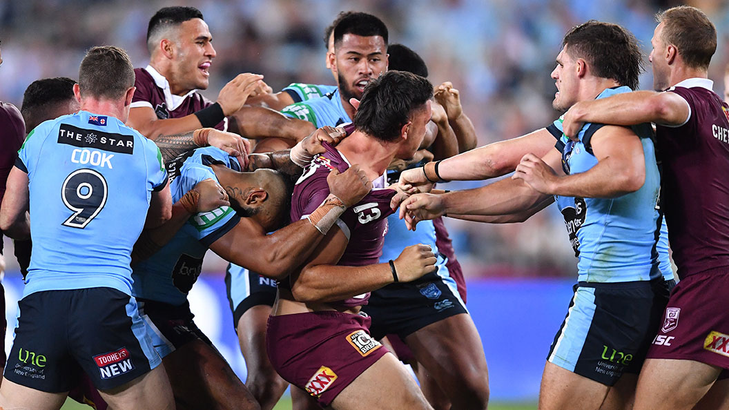 Nrl 2021 Tino Fa Asuamaleaui And Payne Haas Discuss Weird Friendship Following Origin Stoush Sporting News Australia