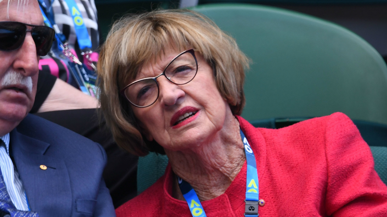 Tennis Australia recognise Margaret Court's 50th anniversary with backhanded compliment