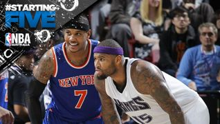 Carmelo Anthony & DeMarcus Cousins