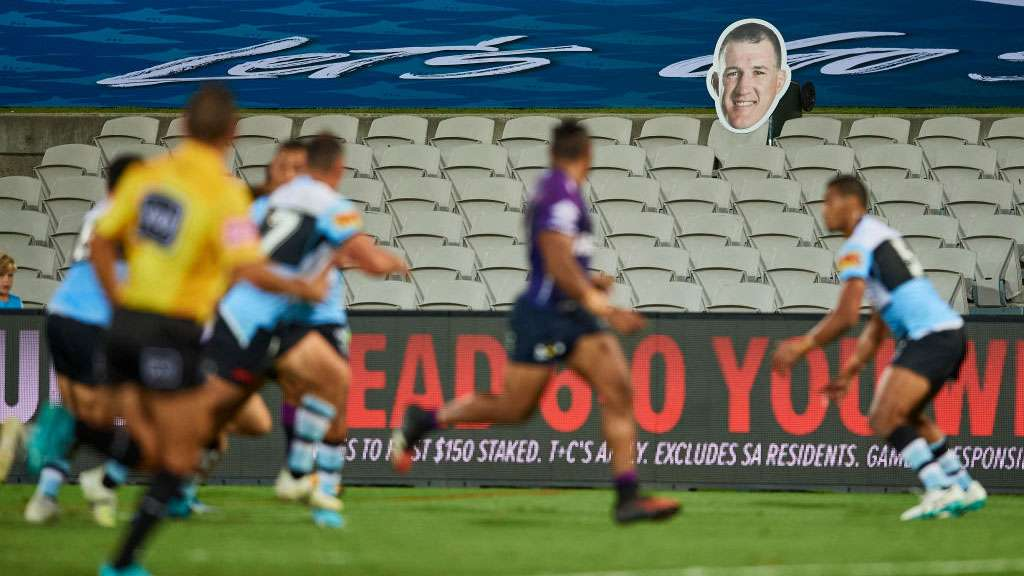 Cronulla Sharks and Melbourne Storm