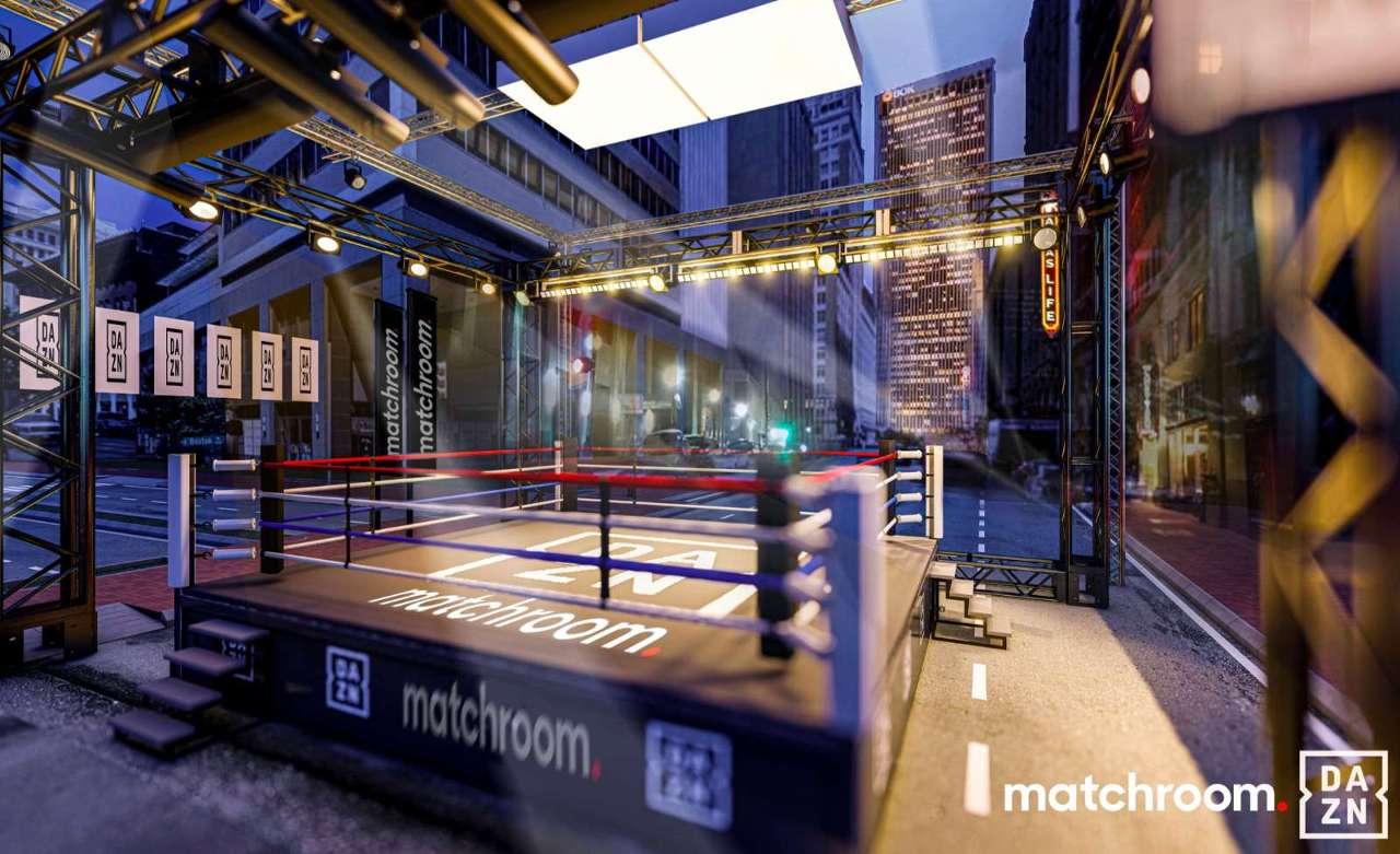 Tulsa Matchroom street boxing