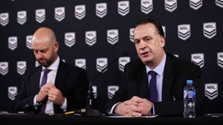 Todd Greenberg and Peter V'landys