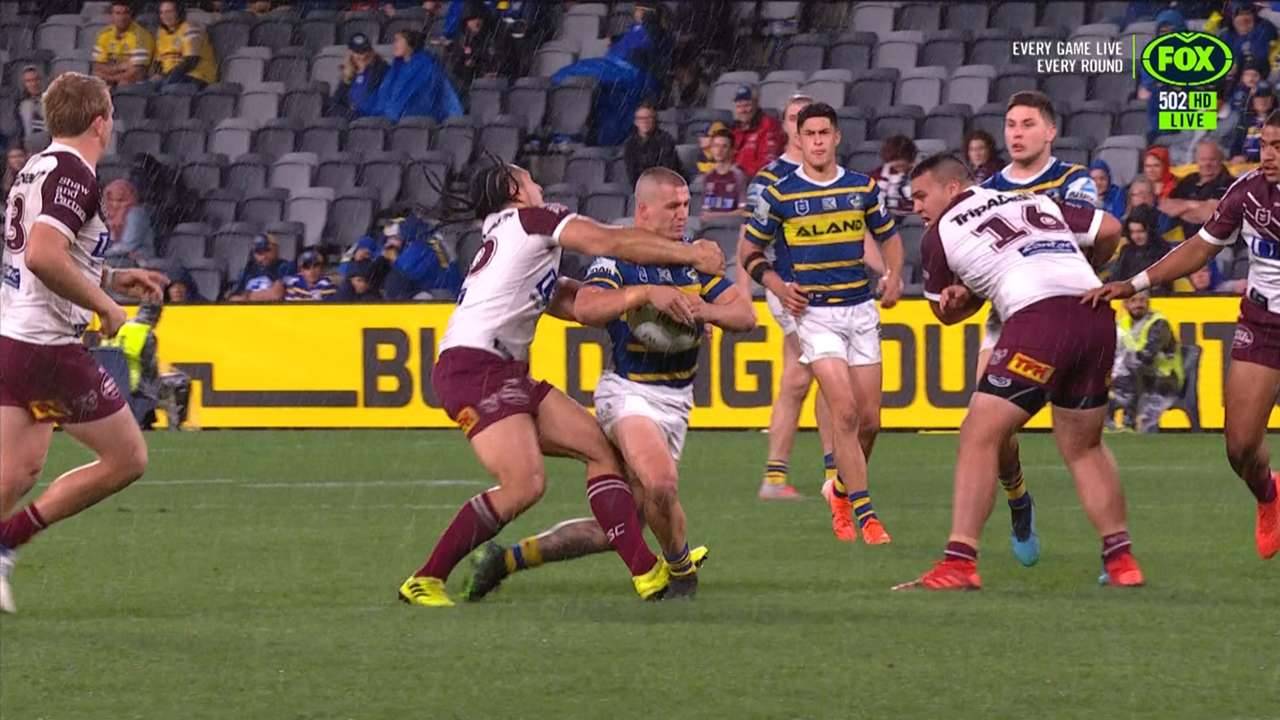 Marty Taupau swinging arm