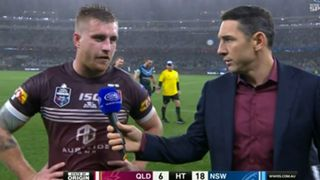 Cameron Munster and Billy Slater