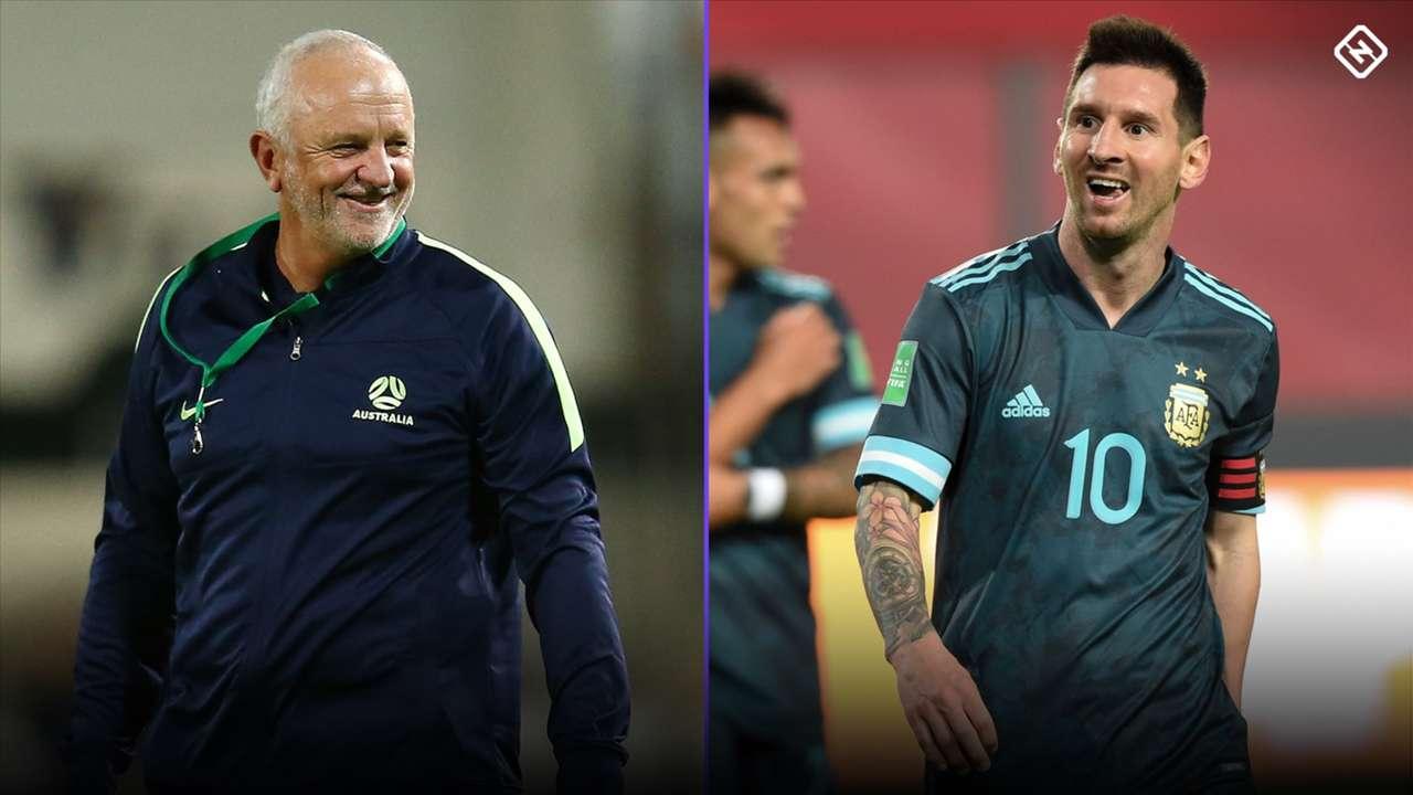 Graham Arnold/Lionel Messi