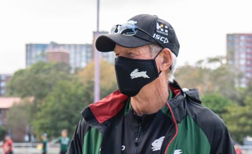 Wayne Bennett face mask