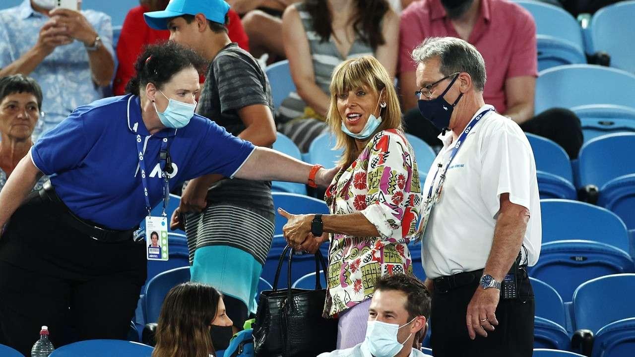 Rafael Nadal heckler