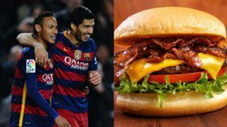 Suarez Neymar Burger