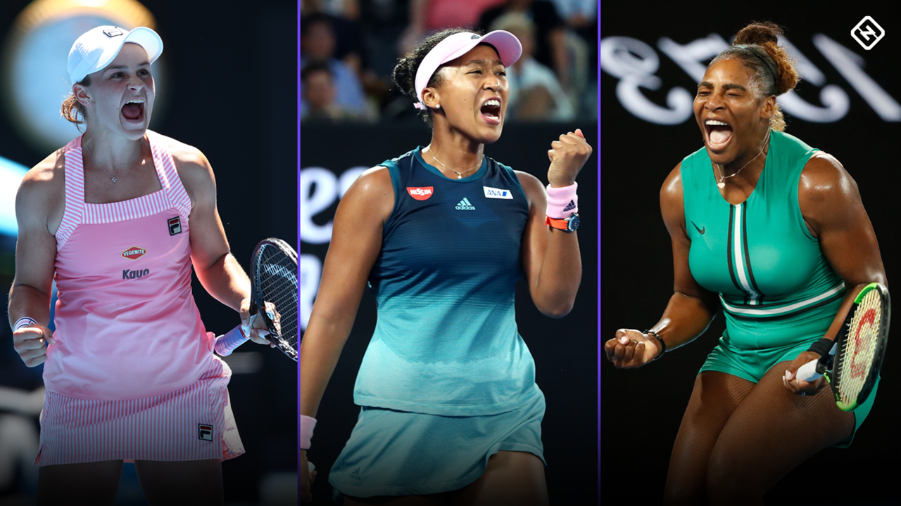 Ash Barty Naomi Osaka Serena Williams