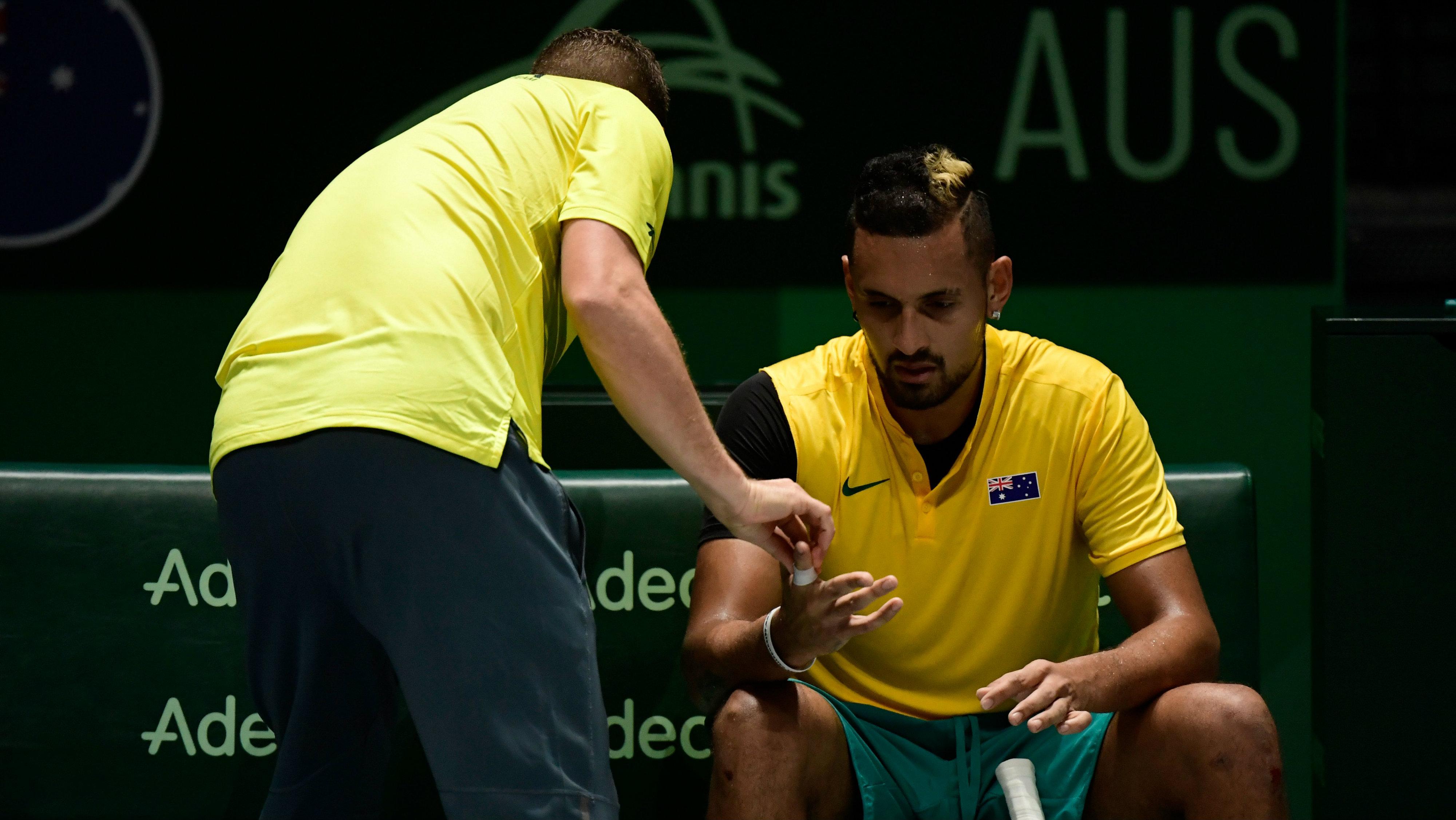 Davis Cup: Todd Woodbridge questions Nick Kyrgios commitment after Australia's quarter-final exit