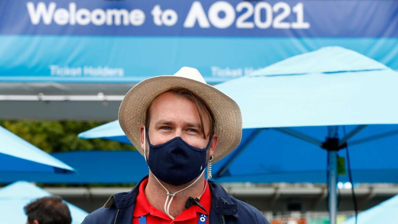 Australian Open masks