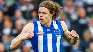 Ben Brown (Kangaroos) - 12 goals. afl top scorers