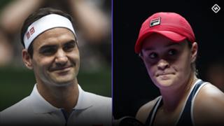 Federer Barty