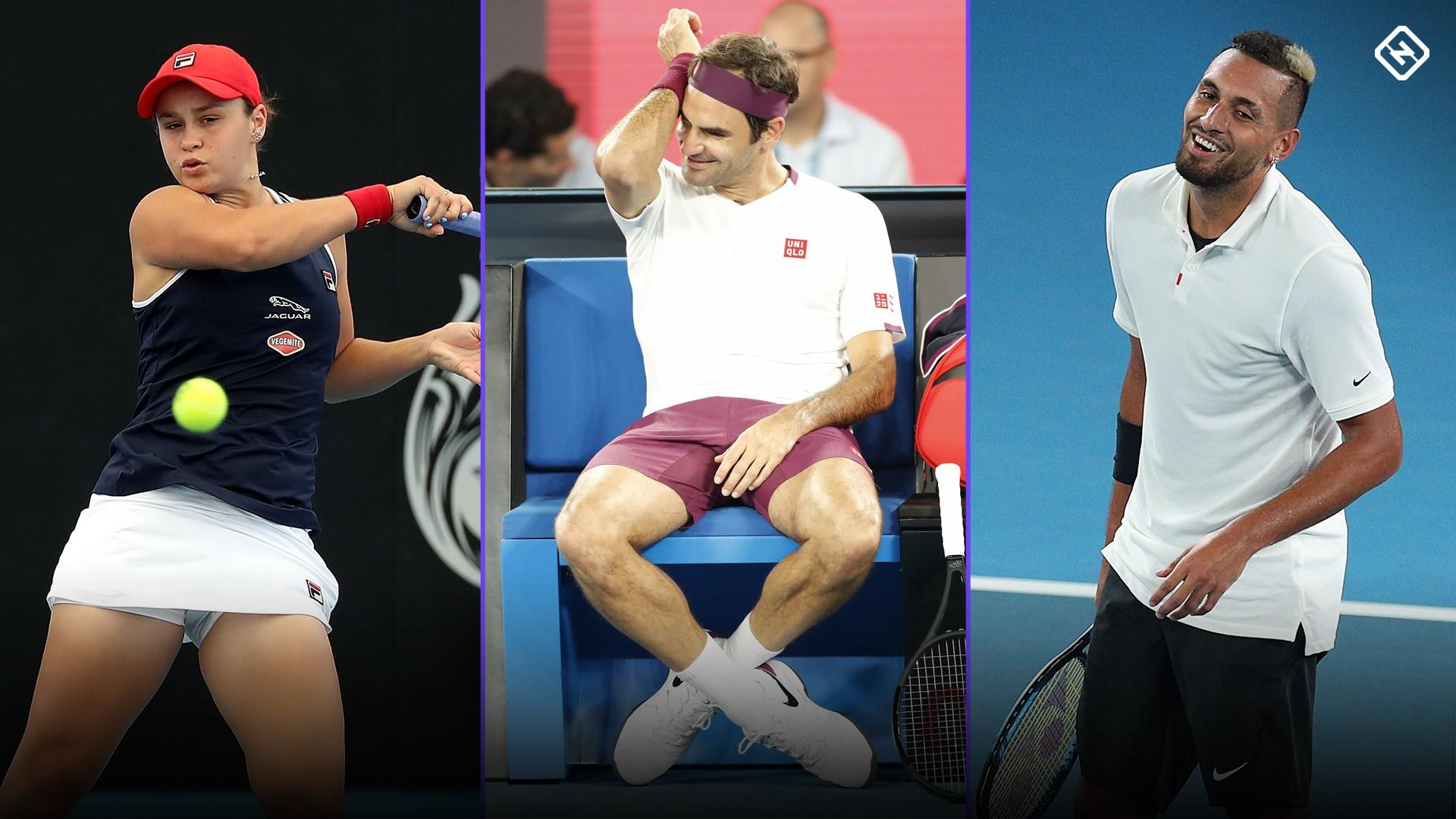 Australian Open 2020: Men's and women's singles draws revealed
