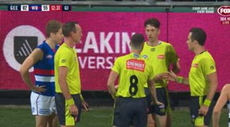 Geelong out of bounds