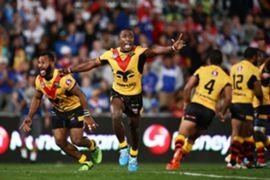 Papua New Guinea celebrate historic win