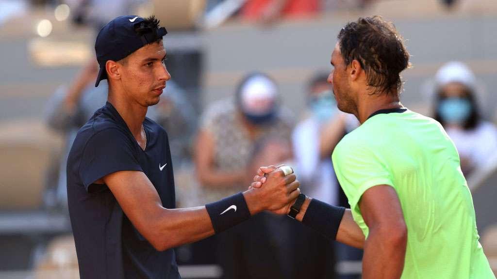 Alexei Popyrin and Rafael Nadal
