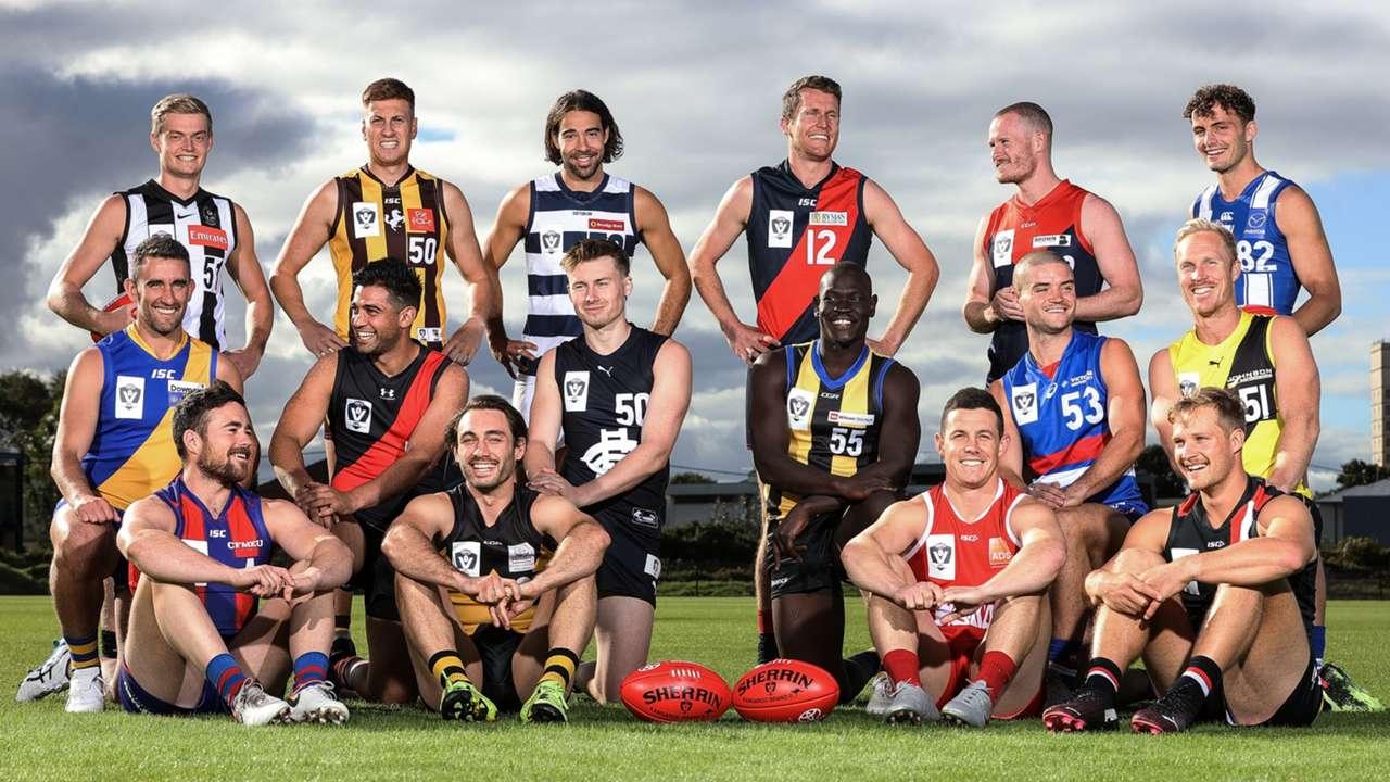 VFL 2021 captains