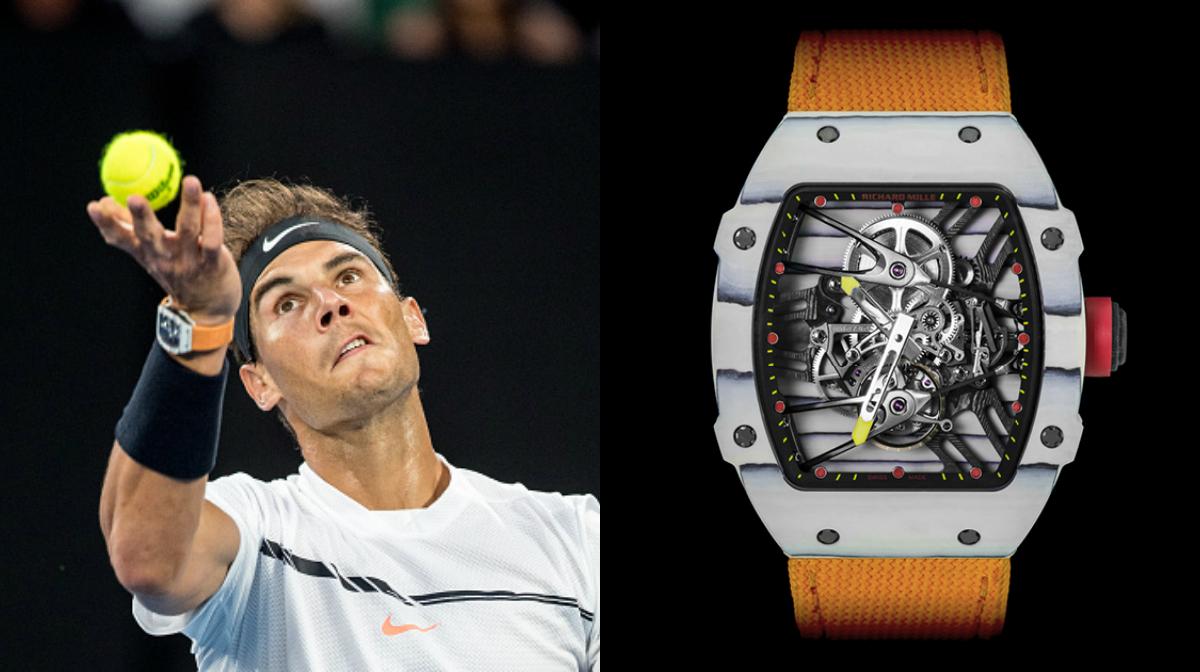 The Ridiculous Price Of Rafael Nadal S Flashy Watch Sporting News Australia