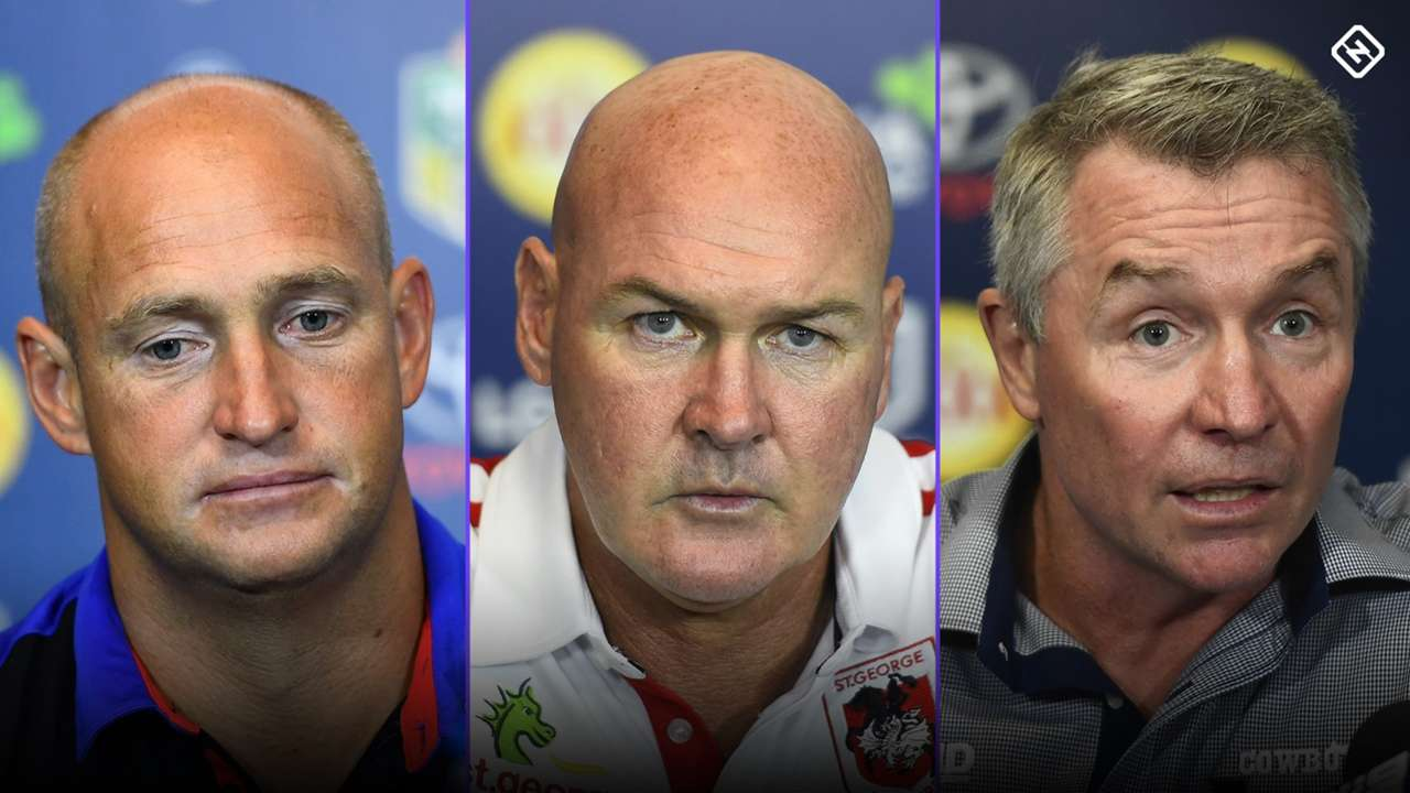 A number of NRL coaches are under immense pressure heading into the 2020 season.