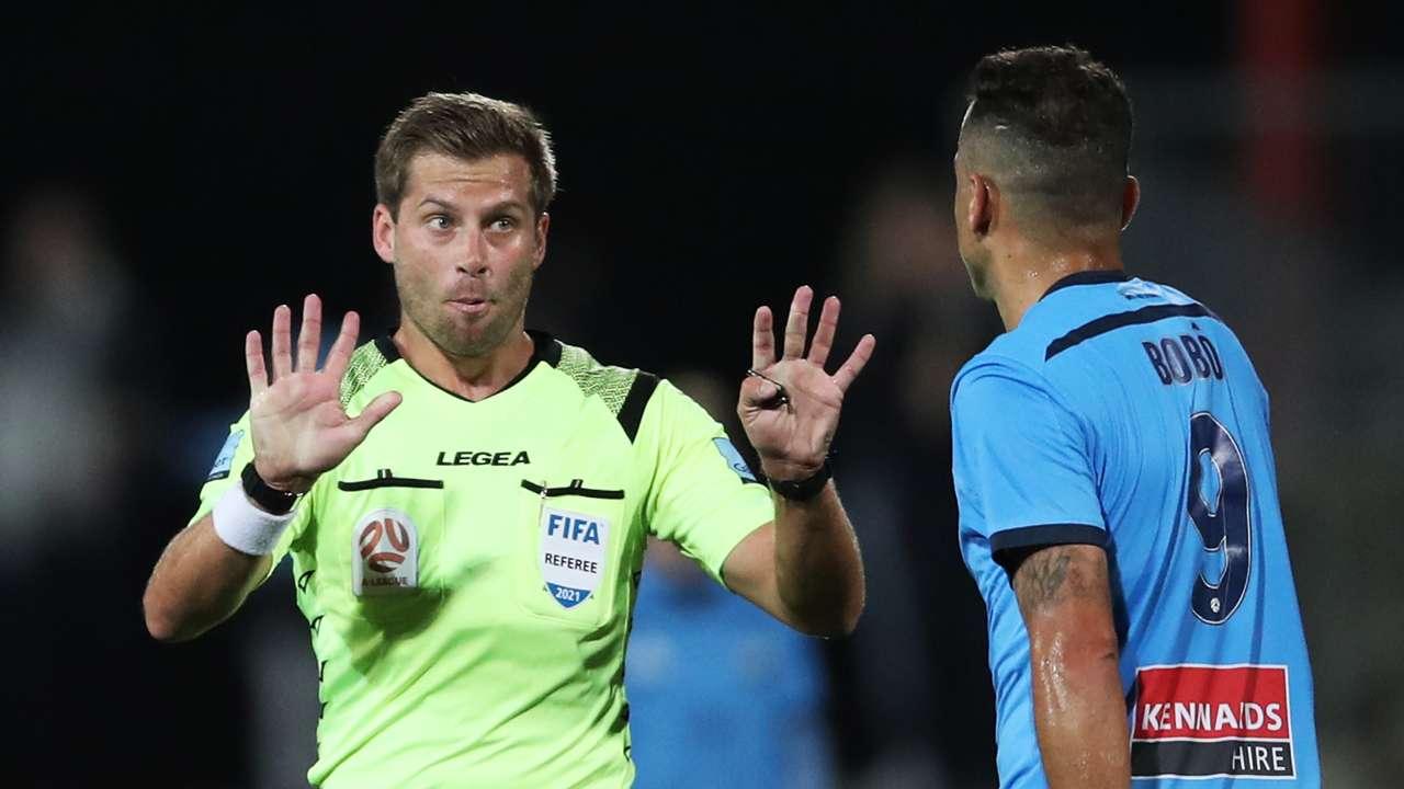 Alex King A-League referee